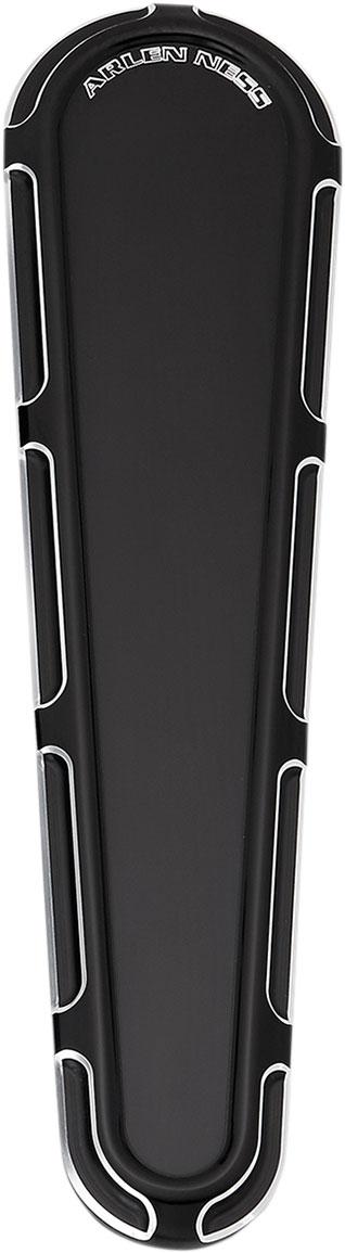 Arlen Ness - 04-165 - Dash Insert, Beveled - Black