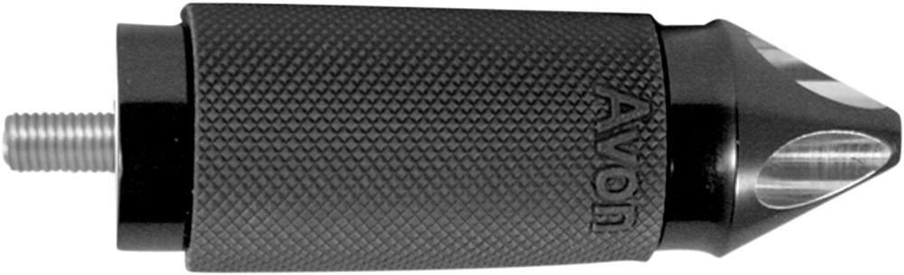 AVON Custom Contour Shifter/Brake Peg for H-D Motorcycles (SPIKE Black)