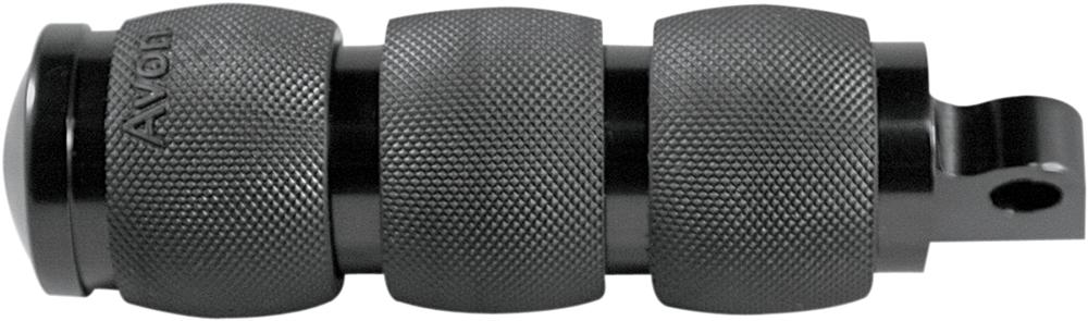 AVON Air Cushion Folding Foot Pegs for H-D Motorcycles (Black)