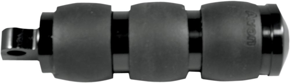 AVON Velvet Air Cushion Folding Foot Pegs for H-D Motorcycles (Black)