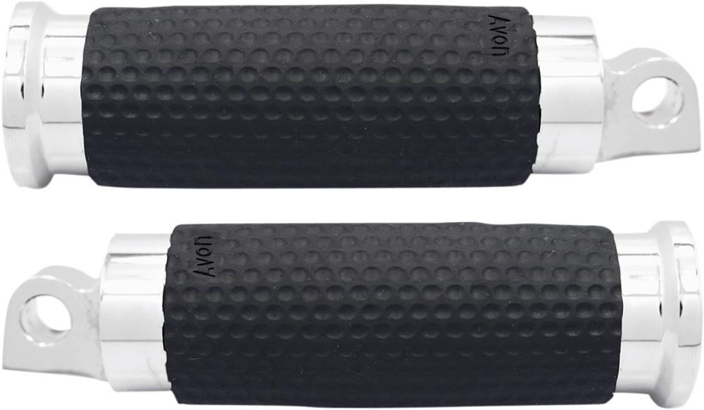 AVON Air Gel Foot Pegs for H-D Motorcycles (Chrome)