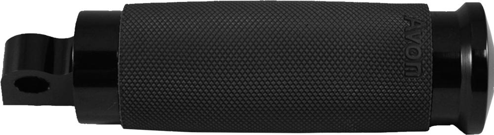 AVON Custom Contour Folding Foot Pegs for H-D Motorcycles (Black)