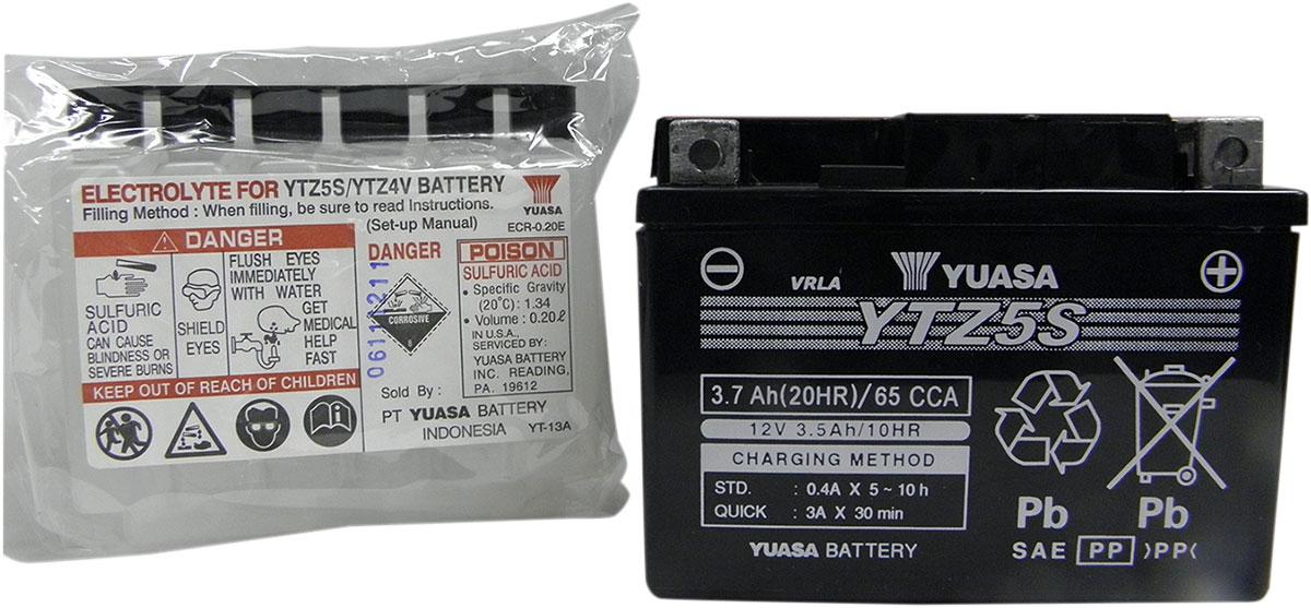 BATTERIA YUASA YTZ5S KTM EXC 525 2003/>2004