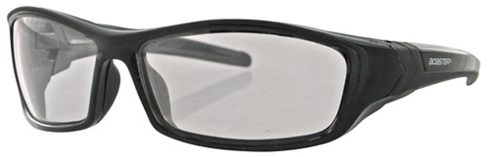 Bobster Hooligan Sunglass (Black Frame, Photochromic Lens)