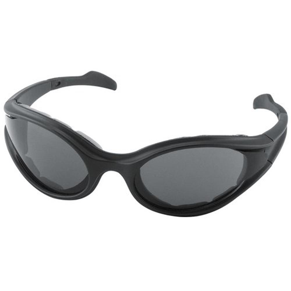 Bobster Foamerz Sunglasses (Black Frame, Anti-fog Smoke Lens)