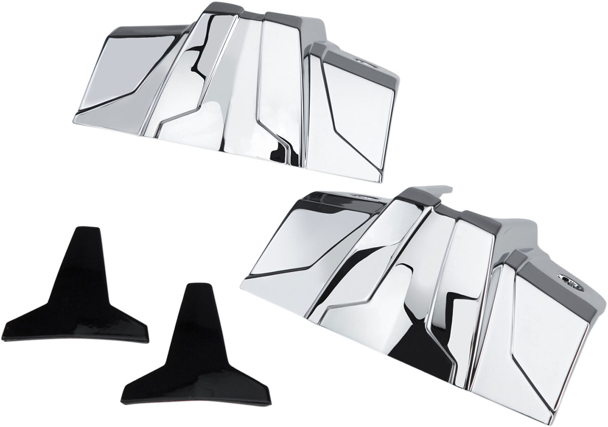 CIRO Lifter Block Covers (Chrome)