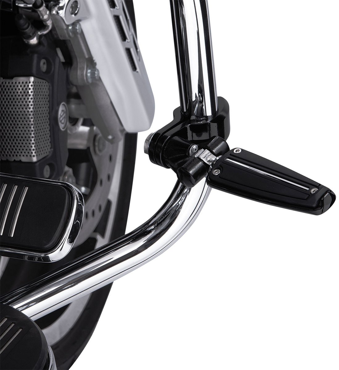 CIRO Highway Peg Mounting Kit w/ Clevis for Traditional D Spring Pegs (Black)