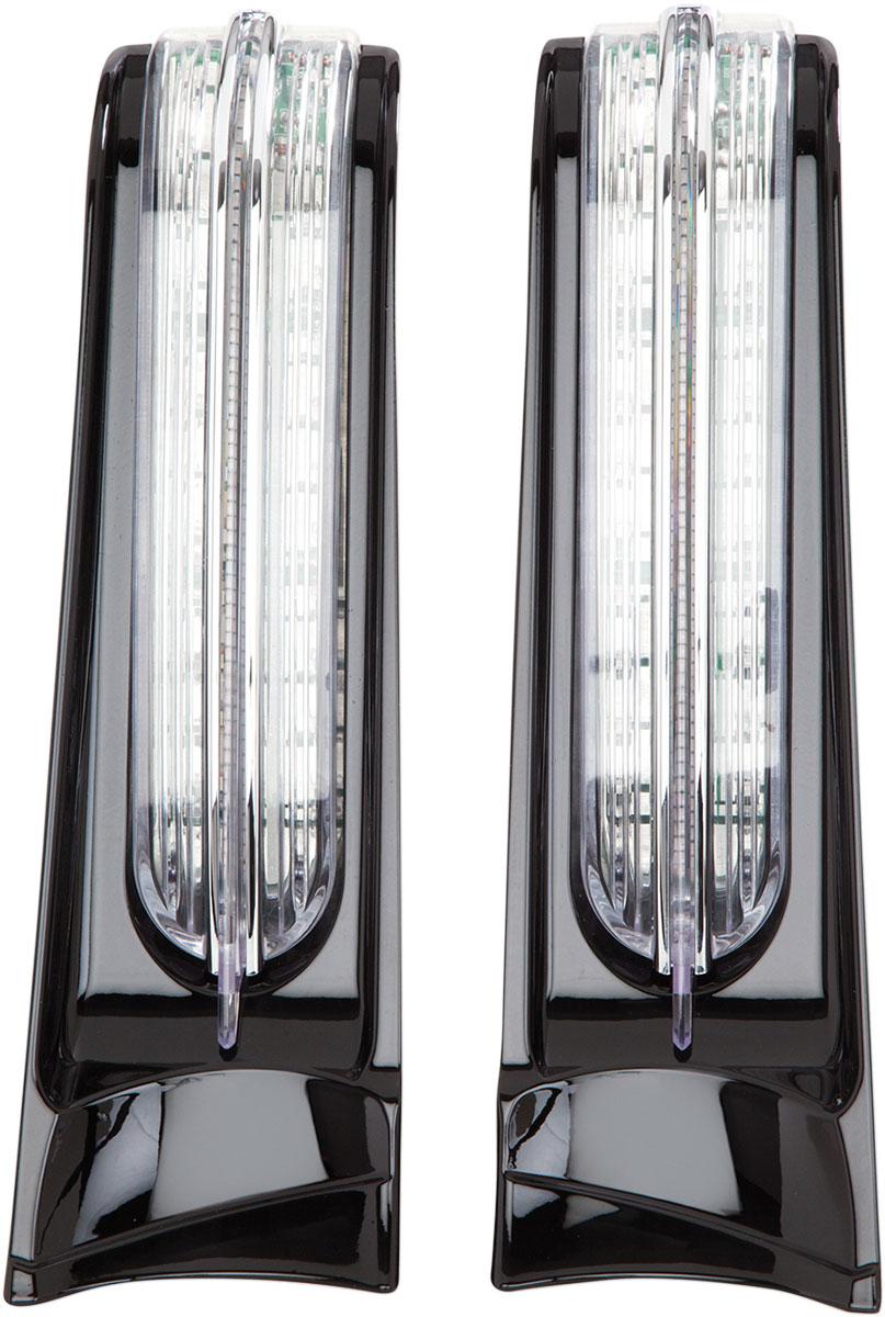 CIRO Filler Panel Accent Lights w/ LED Run/Turn/Brake Lights (Black)