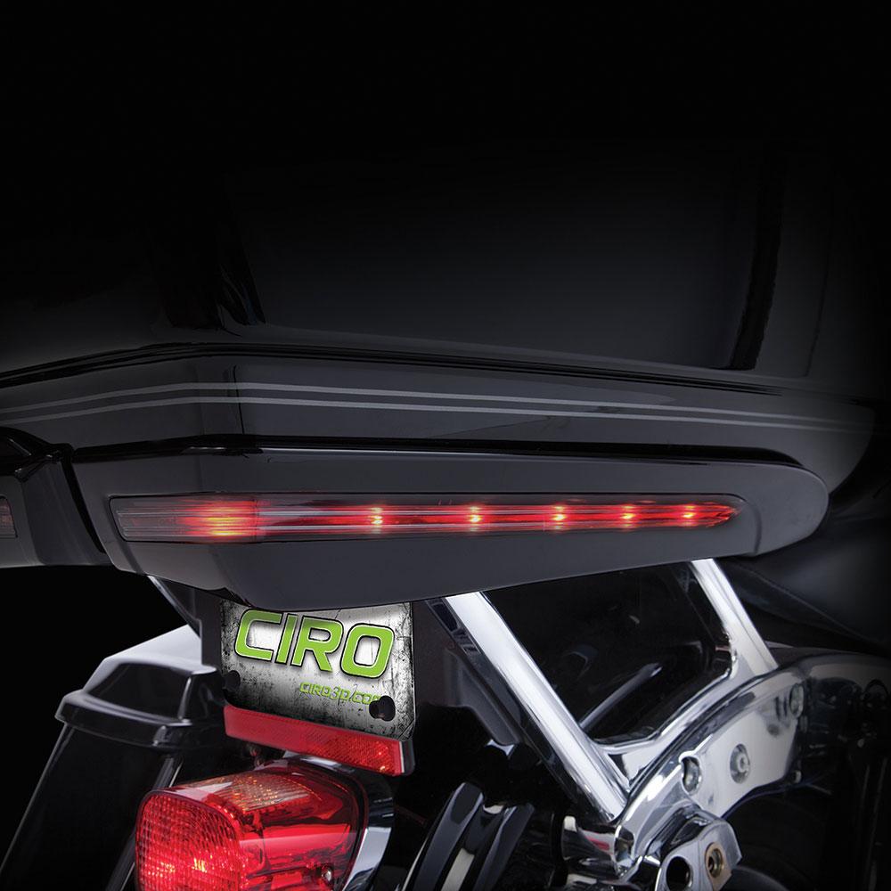 CIRO Light Accents For Harley-Davidson Tour-Pak (Black)