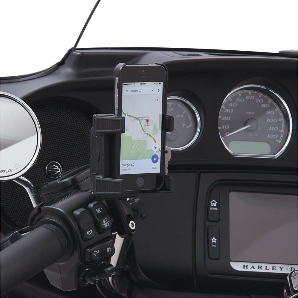 CIRO Smartphone/GPS Holder w/out USB (Brake/Clutch Perch Mount)