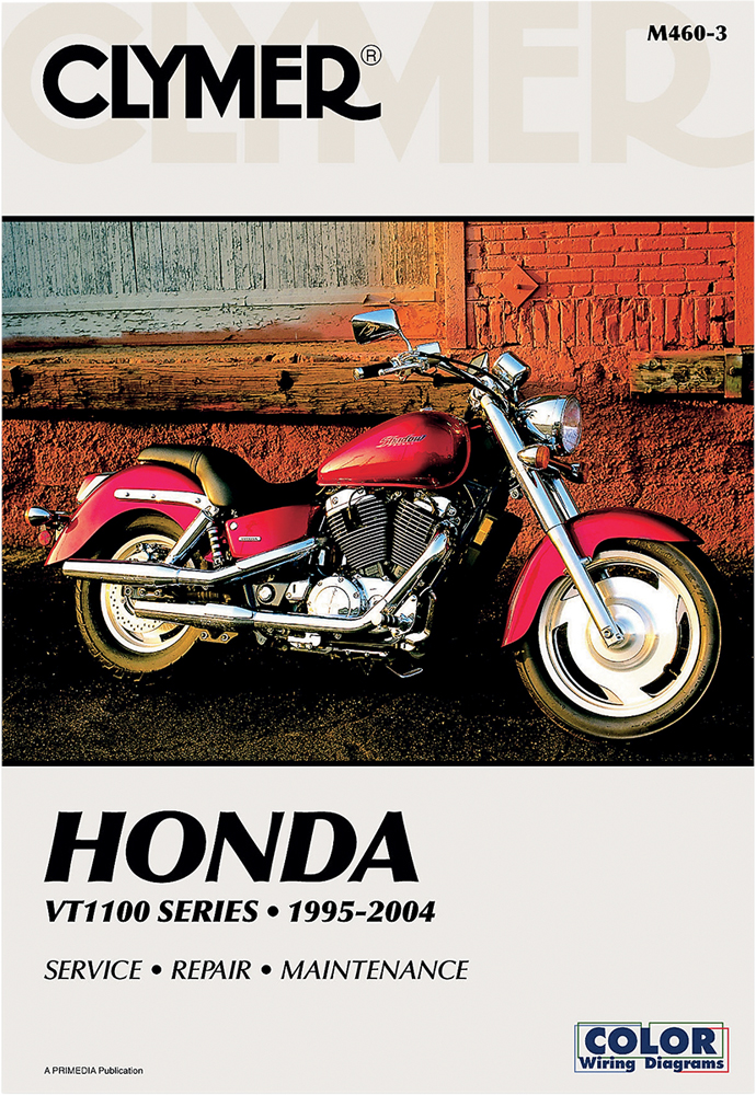 42010083 clymer repair manual honda shadow vt1100 sabre, aero, american 2004 honda shadow sabre 1100 wiring diagram at bayanpartner.co