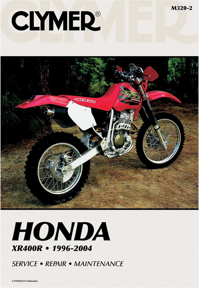 Clymer Repair Manual for Honda XR400R 1996-2004