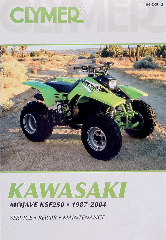 Clymer Repair Manual For Kawasaki Mojave Ksf250 1987