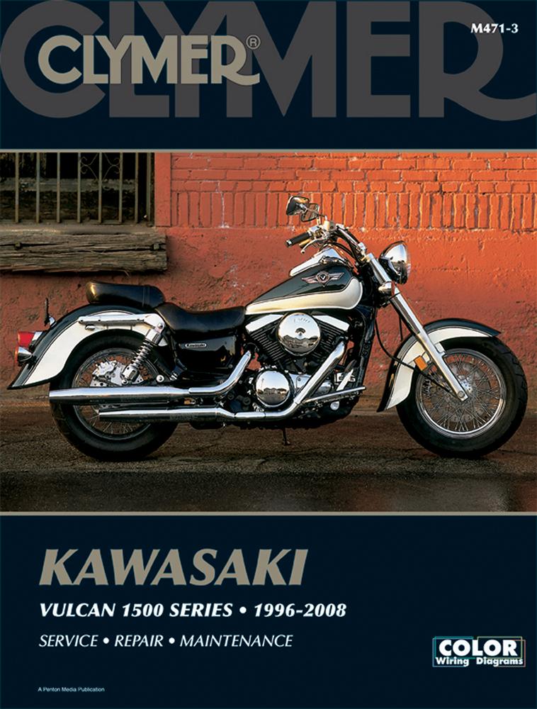 Clymer Repair Manual for Kawasaki Vulcan 1500 Clic, Drifter, Nomad on