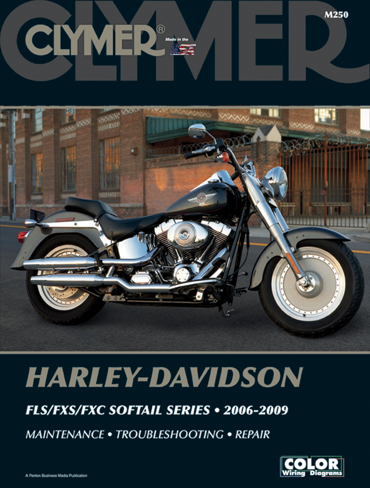 Clymer Repair Manual for Harley-Davidson Softail FLS/FXS/FXC Models 2006-2009