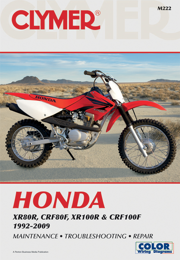 Clymer Repair Manual for Honda XR80R, CRF80F, XR100R and CRF100F 1992-2009