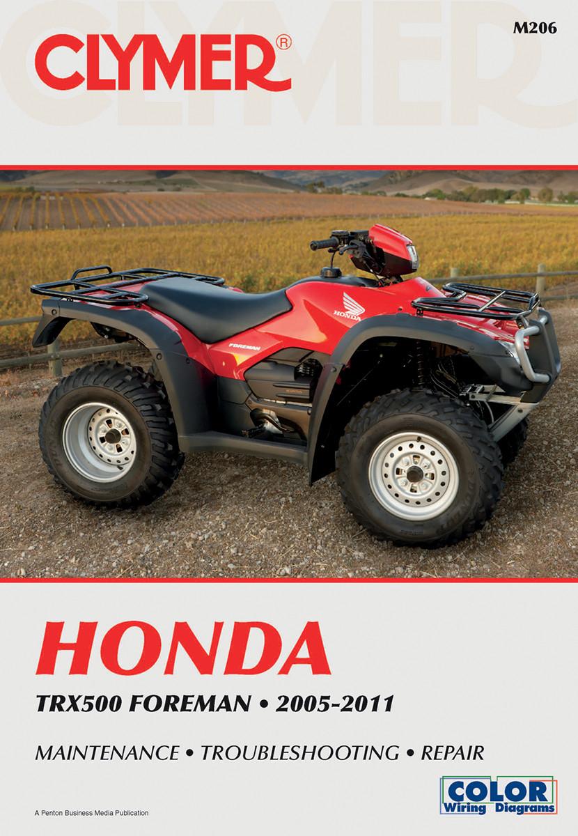 Clymer Repair Manual for Honda TRX500 Foreman 2005-2011