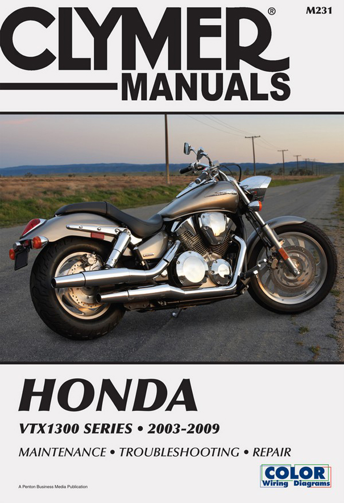 Clymer Repair Manual for Honda VTX1300 Series 2003-2009