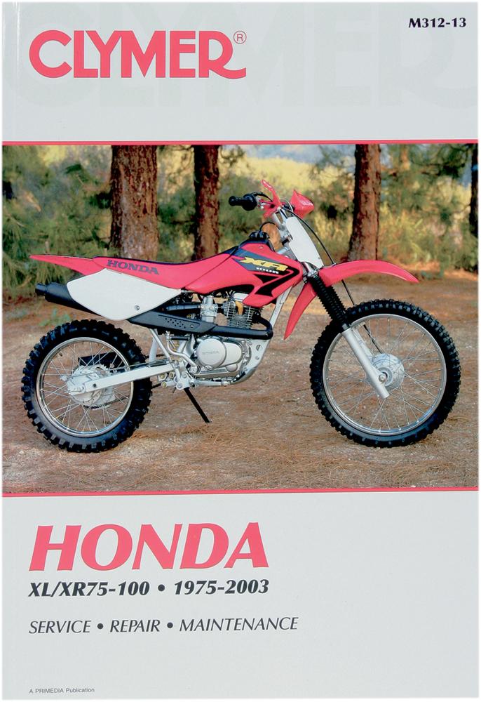 Clymer Repair Manual for Honda XL75/XR75, XL80/XR80 and XL100/XR100 1975-1991