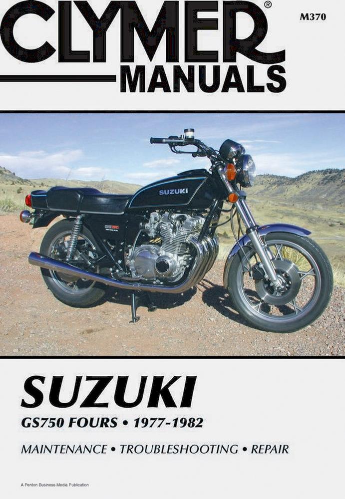 Clymer Repair Manual  Suzuki Gs750 77