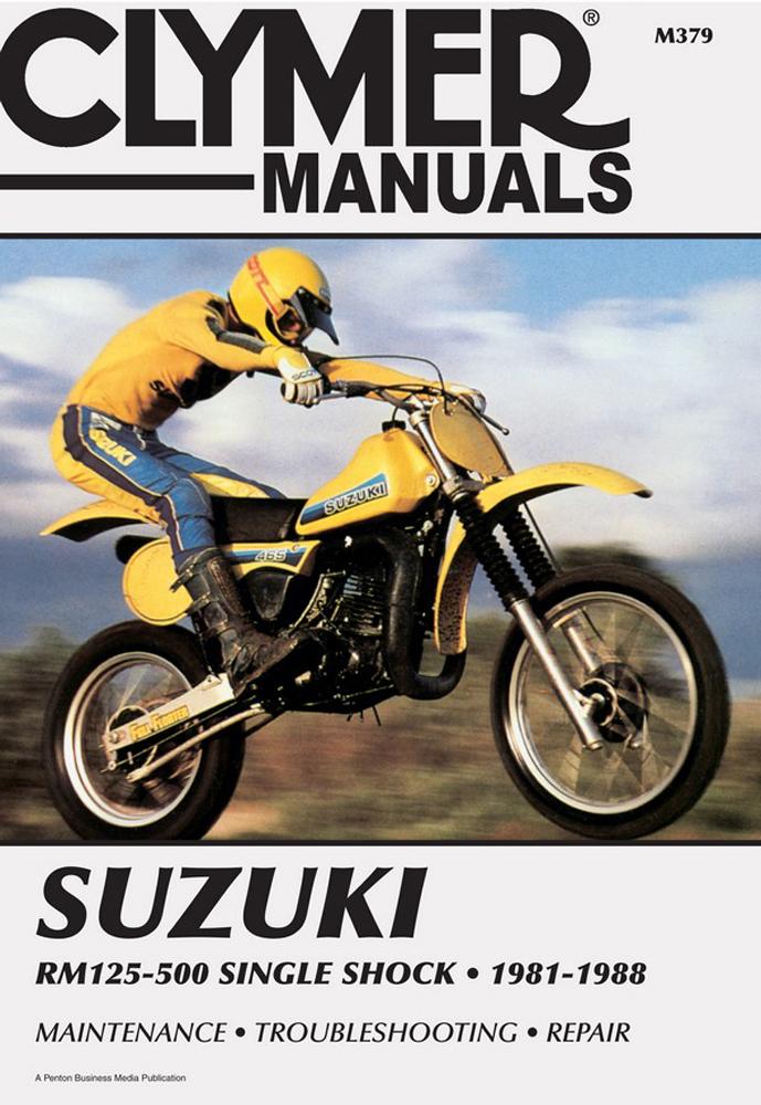 Clymer Repair Manual Suzuki Rm125 Rm250 1981 88 Rm465 1981