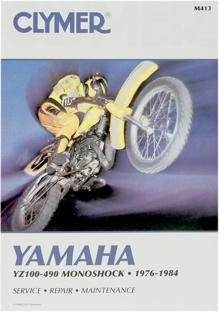 Clymer Repair Manual For Yamaha Yz100  Yz125  Yz175  Yz250