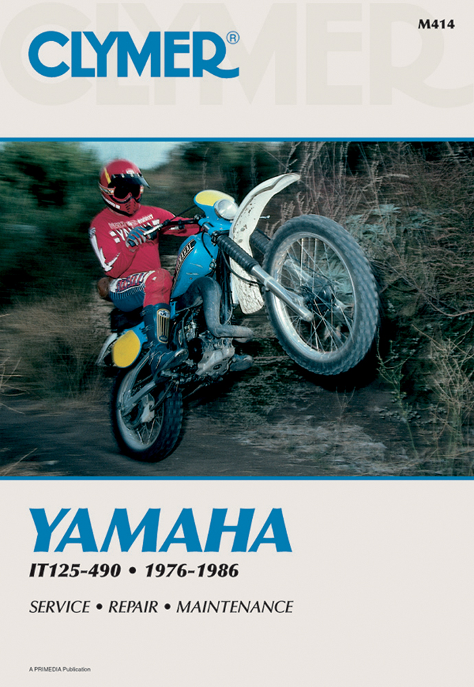 Clymer Repair Manual for YAMAHA IT125 IT175 IT200 IT250 IT400 – It175 Wiring Diagram