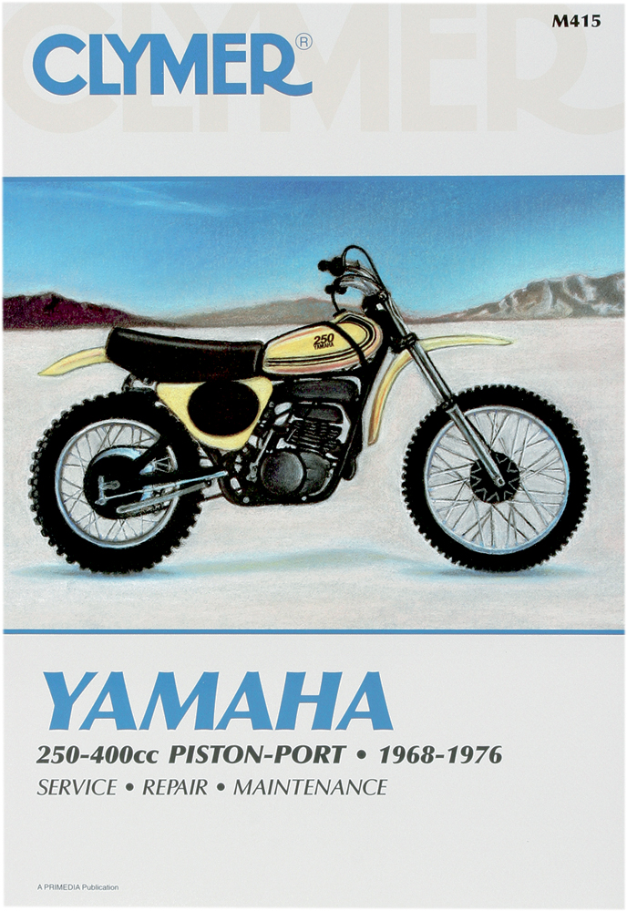 M415 clymer repair manual for yamaha rt1, rt2, rt3, yz250, yz350, yz360 yamaha rt1 wiring diagram at fashall.co