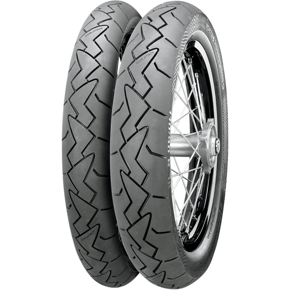 Continental Classic Attack Front Tire (Blackwall) 90/90R18 51V