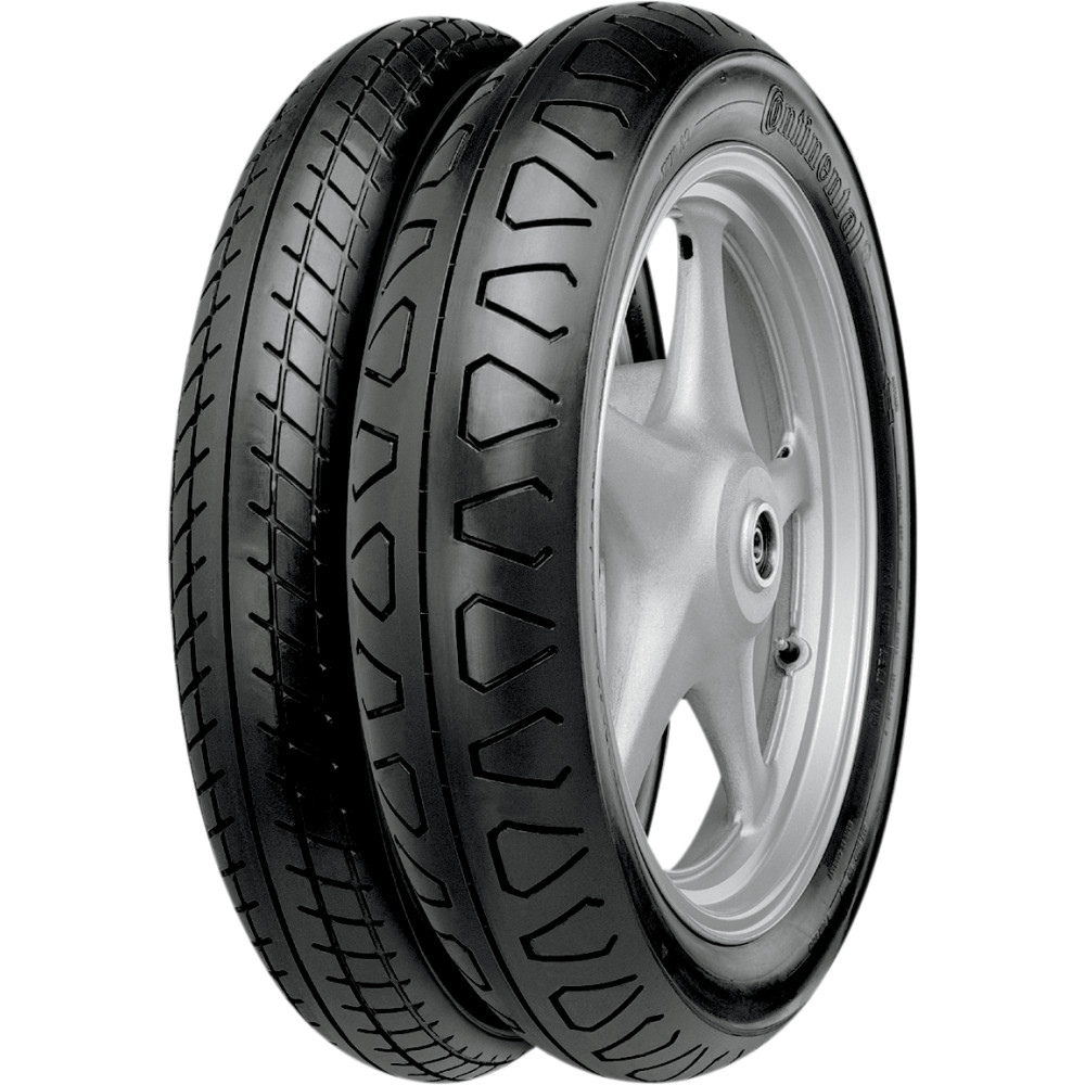 Continental TKV11/TKV12 ContiUltra Sport Classic Rear Tire (Blackwall) 110/90-18 61H