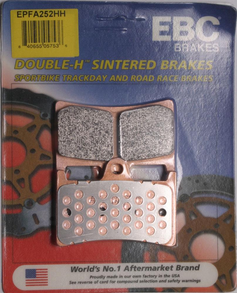 EBC EPFA Extreme Performance Front Brake Pads / One Pair (EPFA252HH)