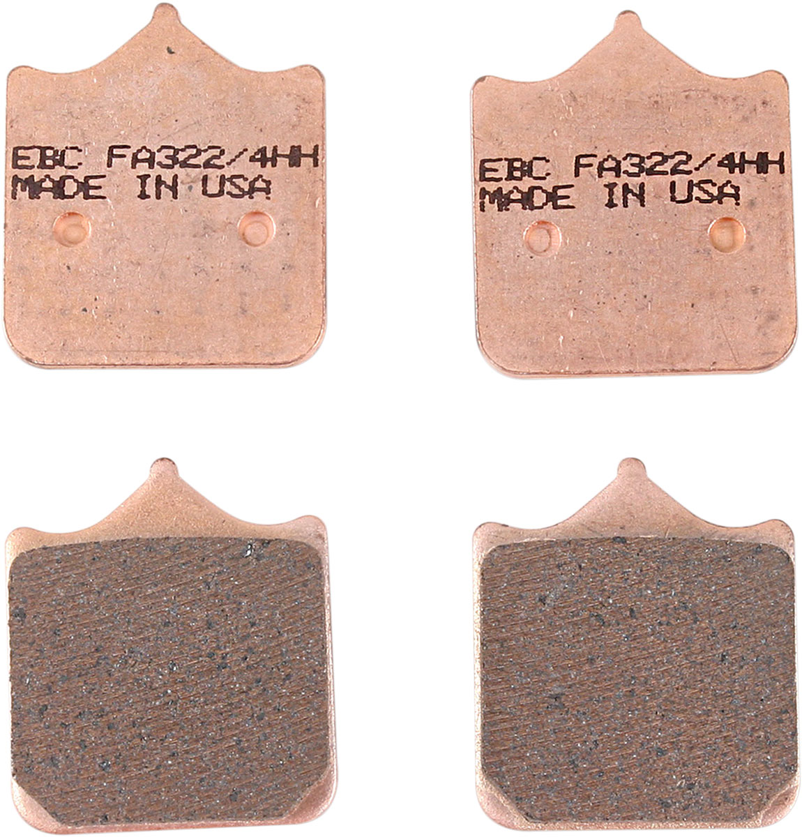 S4RS Front for Ducati 748R//749//996R//998//999 EBC//FA322//4HH Sintered Brake Pads