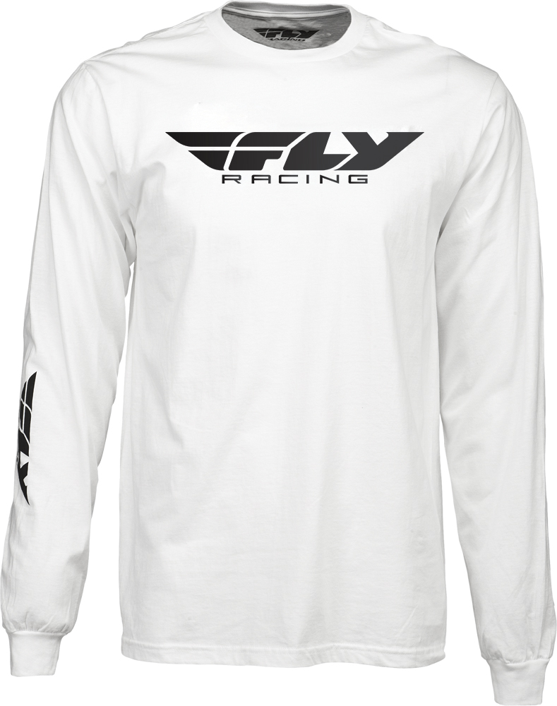 Fly Racing Primary Tee Short Sleeve T-Shirt Black Choose Size Snowmobile