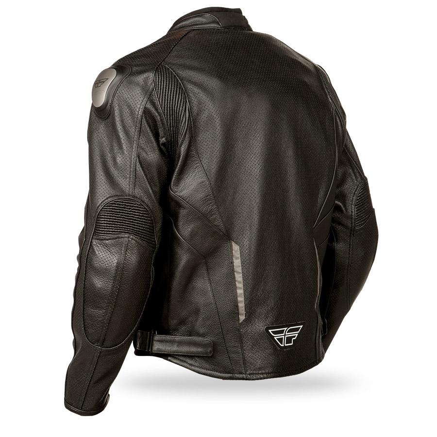 Street bike leather jacket