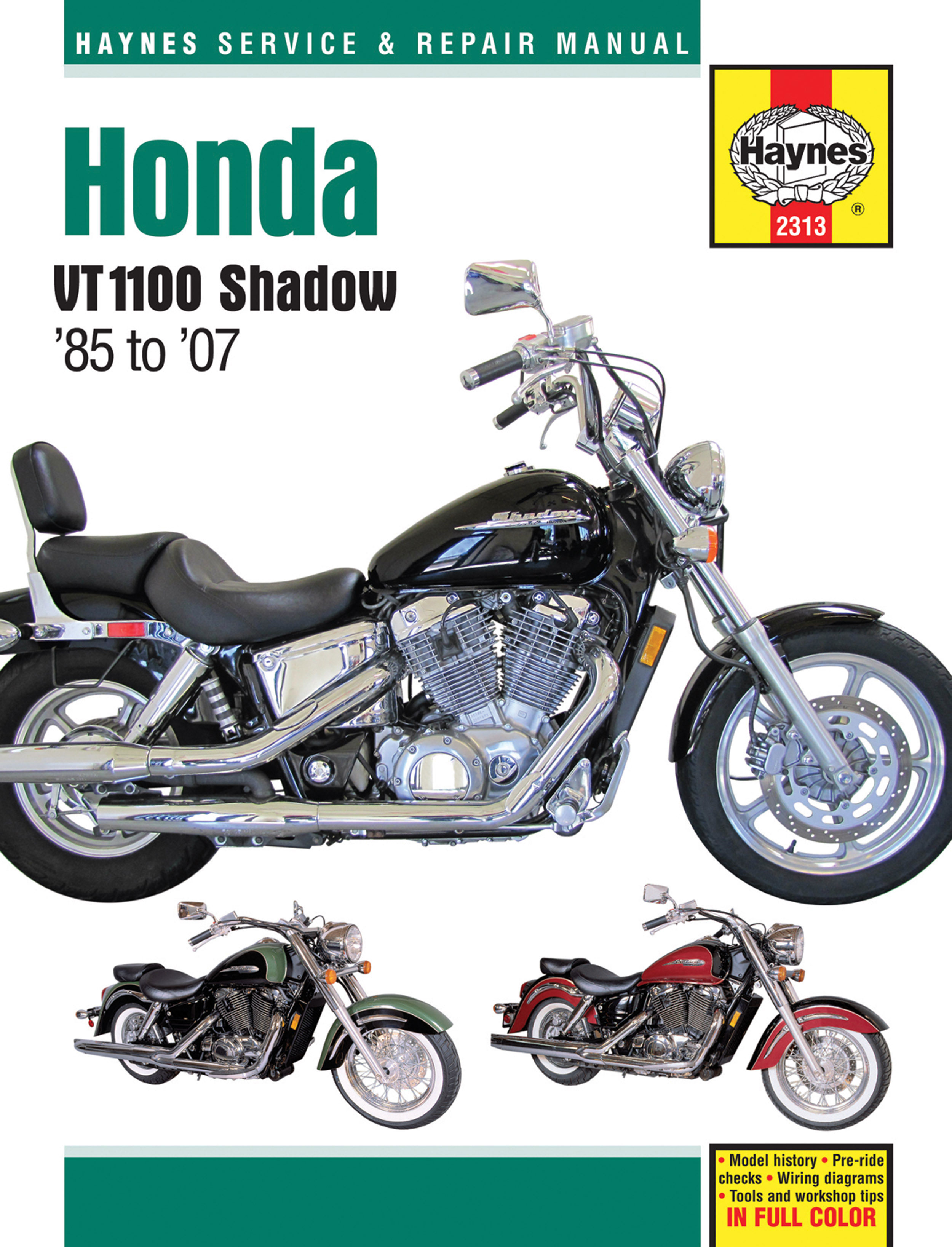 Motorcycle Honda Shadow Wiring Diagram
