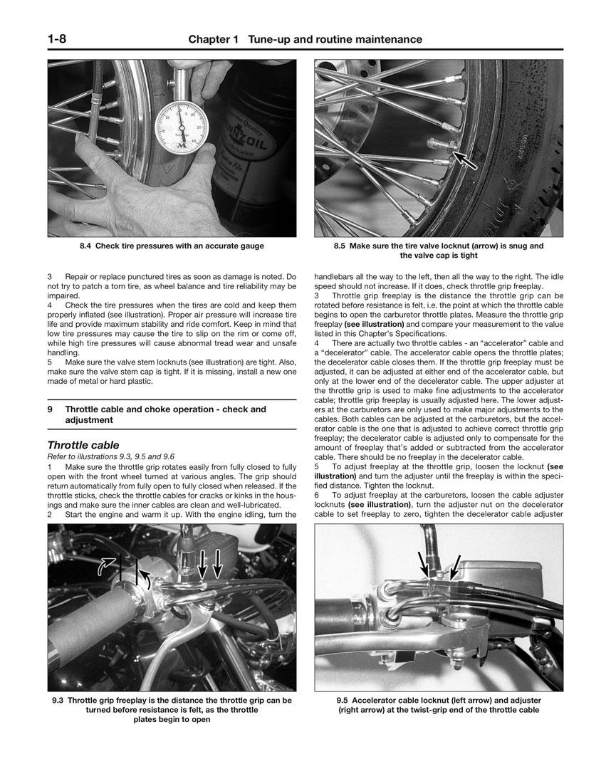 HAYNES Repair Manual - Honda Shadow VT1100 (1985-2007)