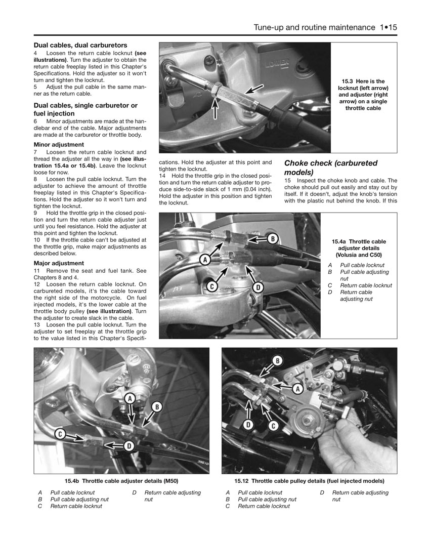 Haynes Repair Manual  Vs750  Vs800 Intruder