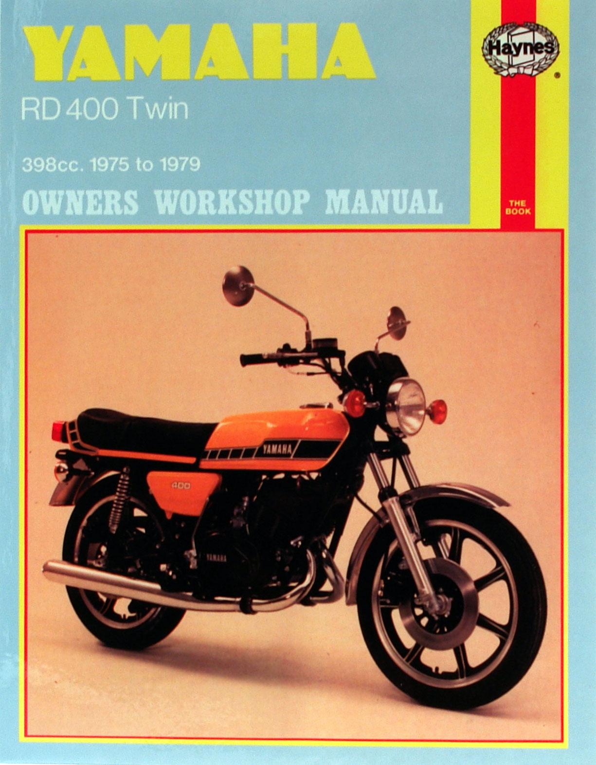 HAYNES Repair Manual - Yamaha RD400 Twin 398cc models (1975-1979)