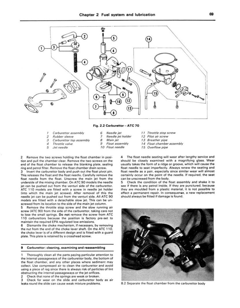 Haynes 565 3 haynes repair manual honda atc70, 90, 110, 185, 200 atvs (1971 1982)