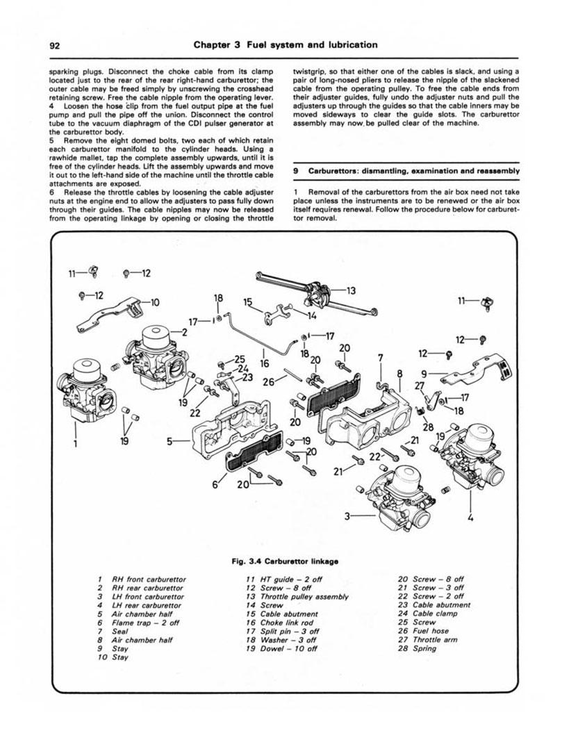goldwing 1100 wiring diagram haynes repair manual honda gold wing gl1100  1979 1981   haynes repair manual honda gold wing