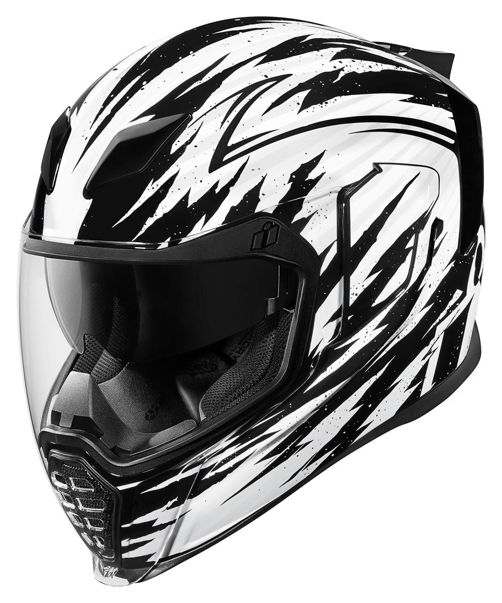 703d618d Icon Motorcycle Airflite Visor Fliteshield Dark Smoke Helmet Visors  Motorbikes, Accessories & Parts