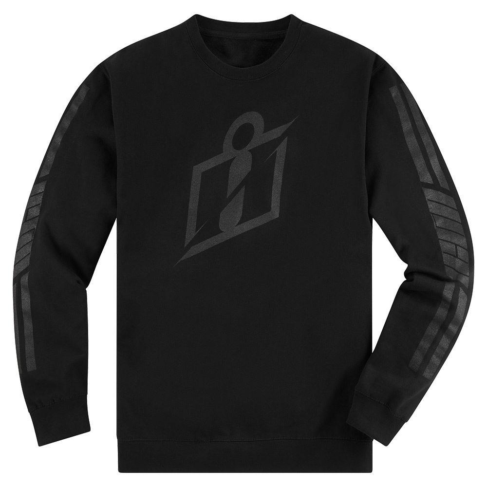 Icon RS Gradient Crewneck Sweatshirt (Black)