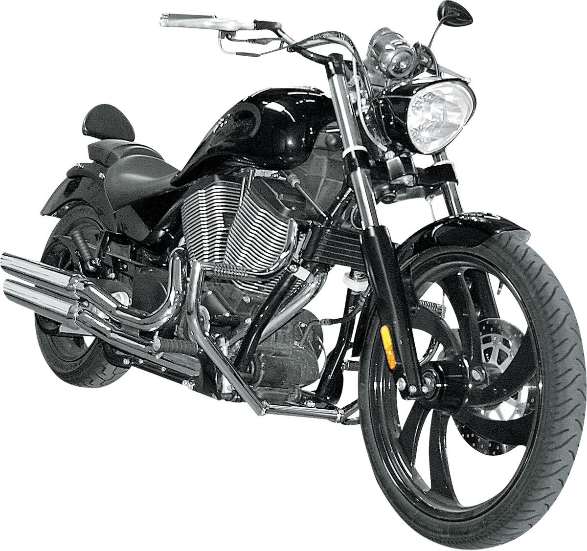 Chrome Honda VTX1300C VTX1300R VTX1300S VTX1300T Lindby UNIBAR Highway Bars