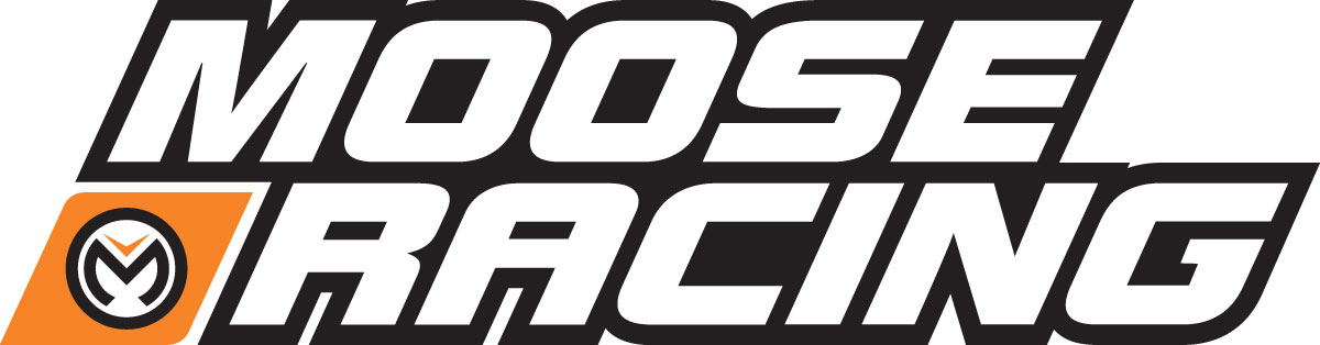 "Moose Racing 6"" Corporate Stacked Logo Decal/Sticker-MSE 432"