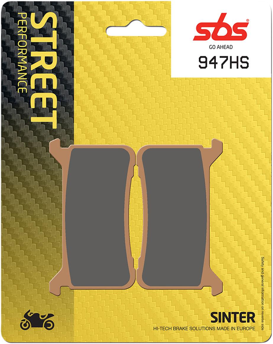 Sbs Hs Sintered Motorcycle Brake Pads 947hs