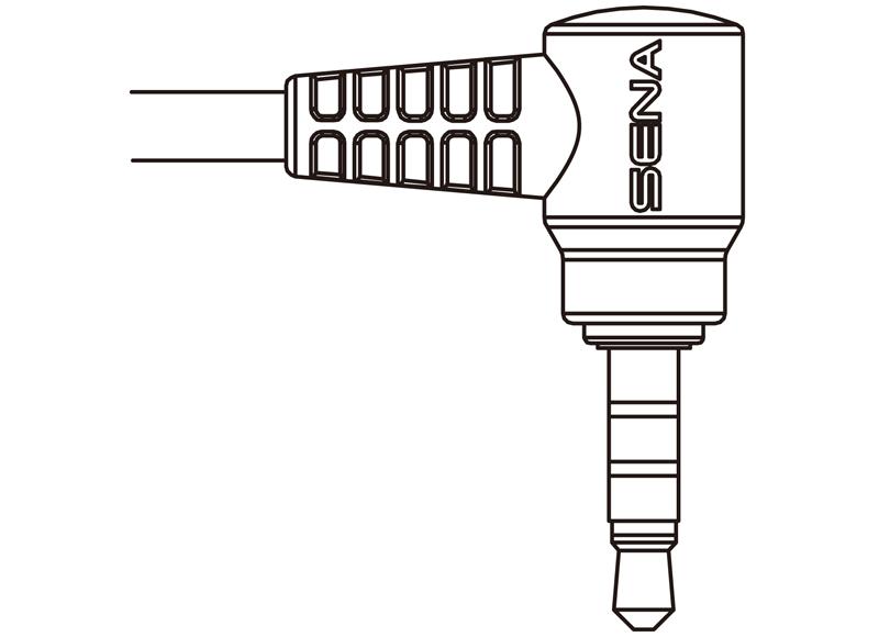 SENA SR10 2-way Radio Cable for Yaesu Single-pin Connector
