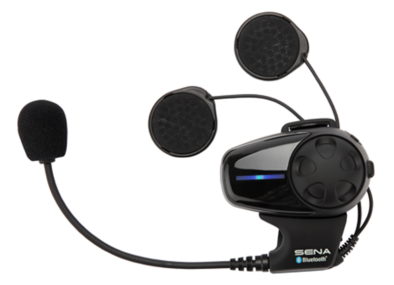 Sena Smh10 Bluetooth Headset Intercom For Open Face Flip Up