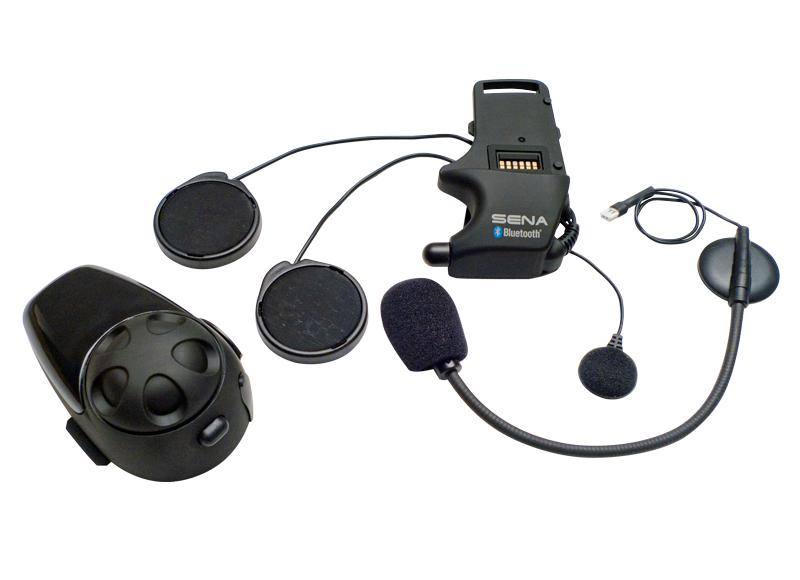 SENA SMH10 Bluetooth Headset/Intercom for Full-face Helmet (Dual/Two Pack)