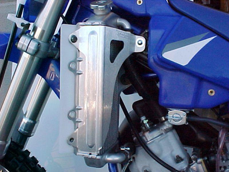 Works Connection Aluminum Radiator Brace 2002 - 2016 Yamaha YZ85 (Silver)  18-122