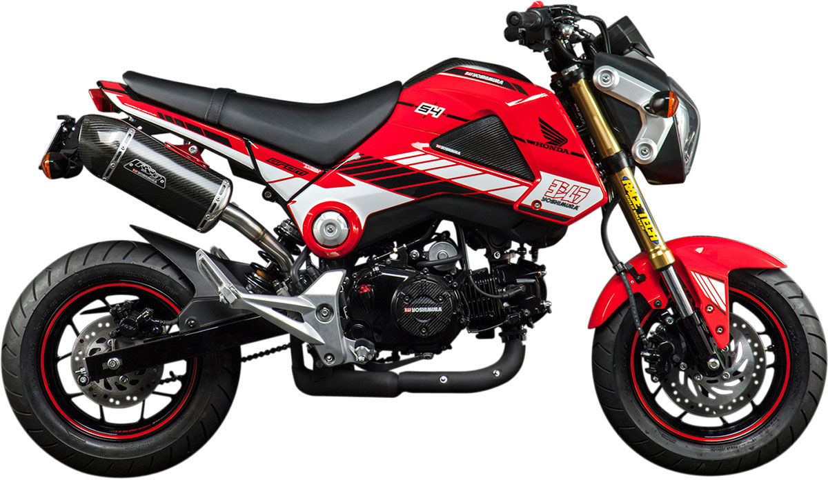 YOSHIMURA Powered By Yoshimura Vinyl Graphics Kit Red - Vinyl graphics for motorcycles